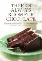There's always room for chocolate book cover