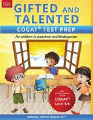 Gifted and talented CogAT test prep for children in preschool and kindergarten