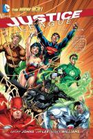 Justice League, Vol 1: Origin cover