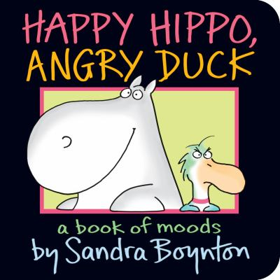 Happy hippo, angry duck :