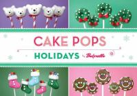 Book cover of Cake Pops Holidays