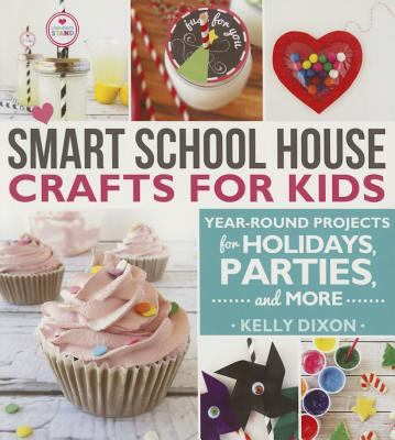 Smart School House crafts for kids :