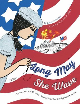 Long may she wave :