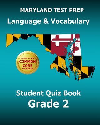Maryland test prep language & vocabulary student quiz book