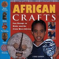 Cover image of African Crafts book