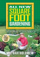 Image of All New Square Foot Gardening book cover