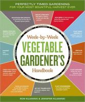 Image of Week by Week Vegetable Gardener's Handbook book cover