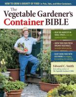 Image of The Vegetable Gardener's Container Bible book cover