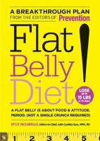 Flat Belly Diet!  by Liz Vaccariello and Cynthia Sass