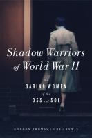 The Shadow Warriors of WWII book cover