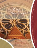 Cover of A City that Sings: Cincinnati's Choral Tradition, 1800-2012 