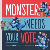 Monster needs your vote book cover