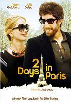 2 Days in Paris cover