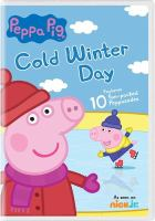 Peppa Pig: Cold Winter Day cover
