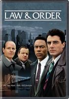 Law & order. The first year, 1990-1991 season.