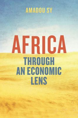 Book cover for Africa through an economic lens