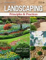 Landscaping principles & practices /