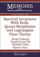 Spectral invariants with bulk, quasi-morphisms and Lagrangian floer theory /