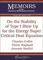 On the stability of type I blow up for the energy super critical heat equation /