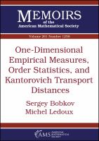 One-dimensional empirical measures, order statistics, and Kantorovich transport distances /