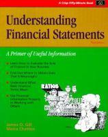 Understanding financial statements : a primer of useful information /