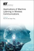 Applications of machine learning in wireless communications /