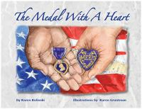 Medal with a heart /