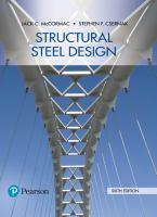Structural steel design /