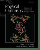 Physical chemistry : principles and applications in biological sciences /