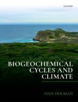 Biogeochemical cycles and climate /