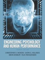 Engineering psychology and human performance /