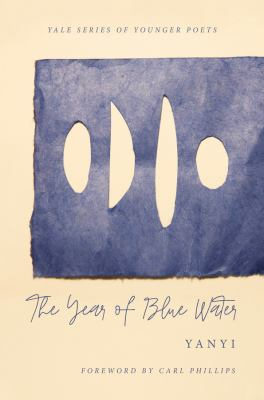 Book cover for The year of blue water