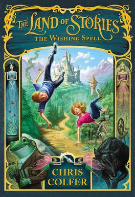 The Land of Stories: The Wishing Spell(book-cover)