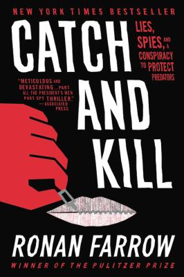 Cover Image for Catch and Kill by Ronan Farrow