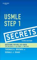 USMLE step 1 secrets /