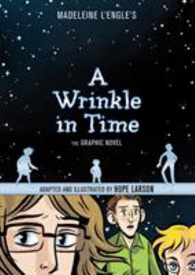 Madeleine L\'Engle\'s A Wrinkle in Time: The Graphic Novel(book-cover)