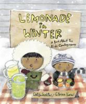 Lemonade in Winter: A Book About Two Kids Counting Moneybook cover