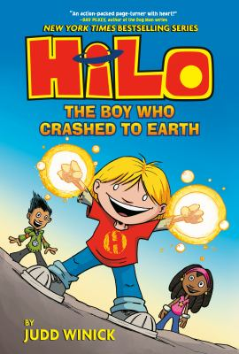 HiLo: The Boy Who Crashed to Earth(book-cover)