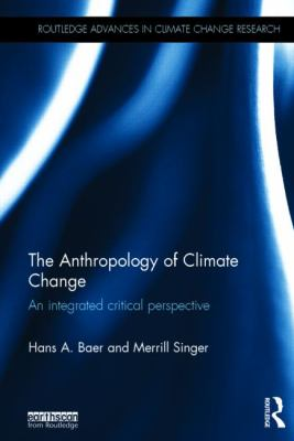 Book cover for The anthropology of climate change