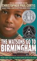 The Watsons Go to Birmingham-1963