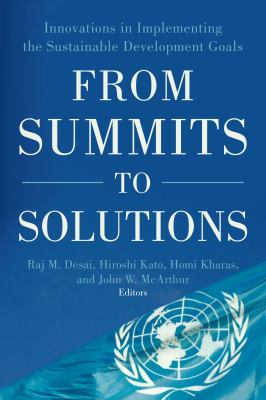 Book cover for From summits to solutions
