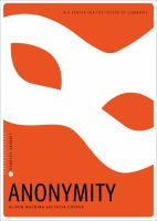 Anonymity /
