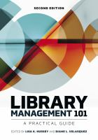 Library management 101 : a practical guide /