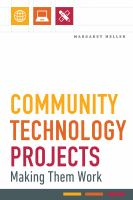 Community technology projects : making them work /