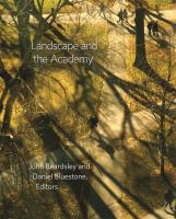 Landscape and the academy /