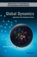 Global dynamics : approaches from complexity science /
