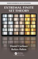 Extremal finite set theory /