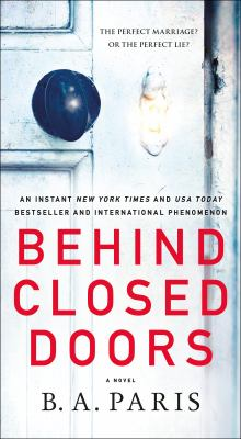 Cover Image for Behind Closed Doors by B.A. Paris