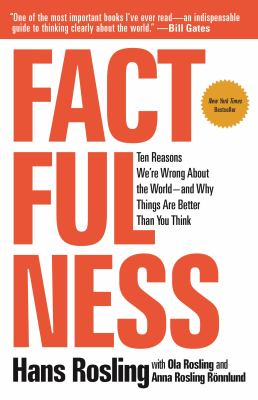 Cover Image for Factfulness by Rosling