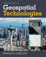 Introduction to geospatial technologies /